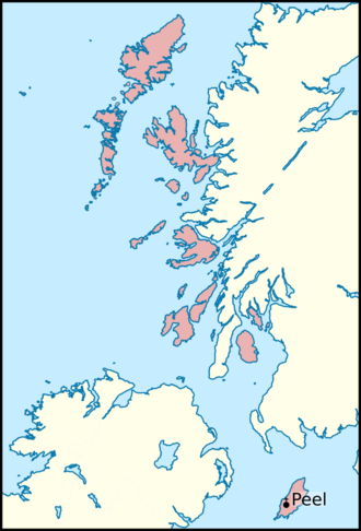 Lord of the Isles - The Norwegian Diocese of the Isles, which aligns with lands that formed the Norwegian Kingdom of the Isles