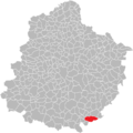 Dissay-sous-Courcillon localisation.png