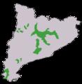 Distribució de la pinassa a Catalunya.png