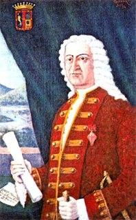 Domingo Ortiz de Rosas, 1st Marquis of Poblaciones Royal Governor of Chile
