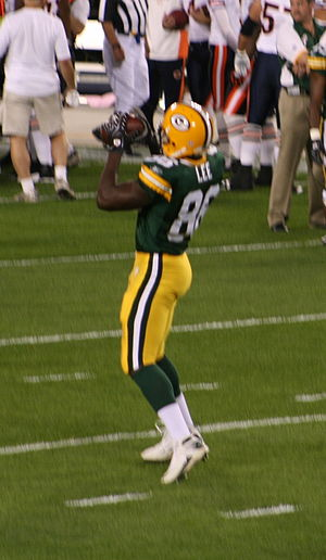 Donald Lee (American football) - Lee with the Packers in 2007