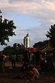 Donauinselfest Vienna 2013 FM4-planet.tt-Insel Millennium Tower.jpg