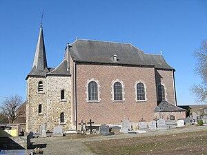 Donceel - Image: Donceel Eglise Saint Cyr et Sainte Juliette