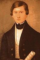 Jugendbildnis von Donizetti (Quelle: Wikimedia)
