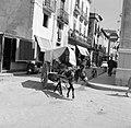 Door muilezel getrokken kar in Barcelona, Bestanddeelnr 254-0759.jpg
