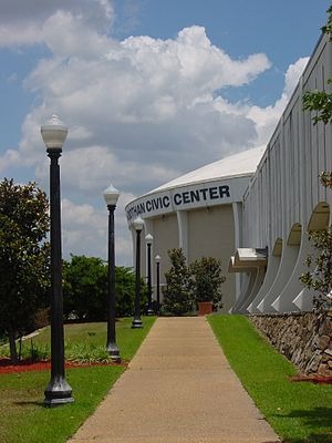 Dothan Civic Center - Image: Dothan Civic Center 1