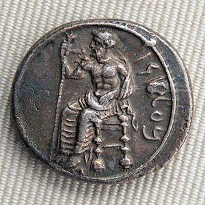 Pharnabazus III - coin of Pharnabazus III