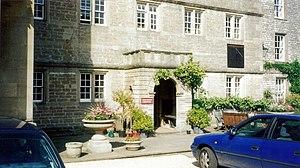 Downside School - The school entrance
