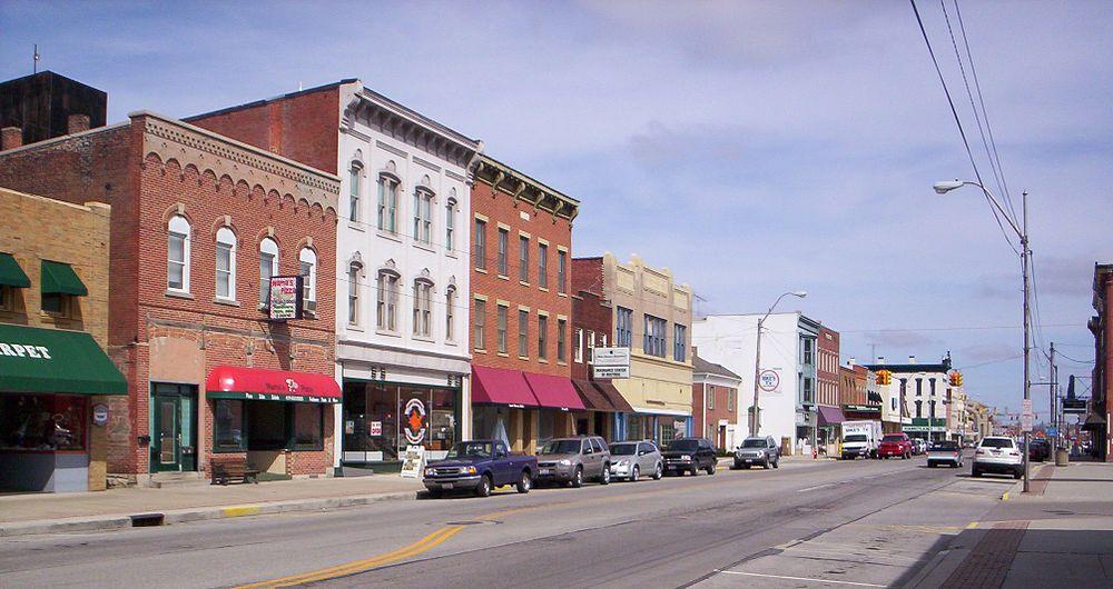 The population density of Bucyrus in Ohio is 686.6 people per square kilometer (1777.42 / sq mi)