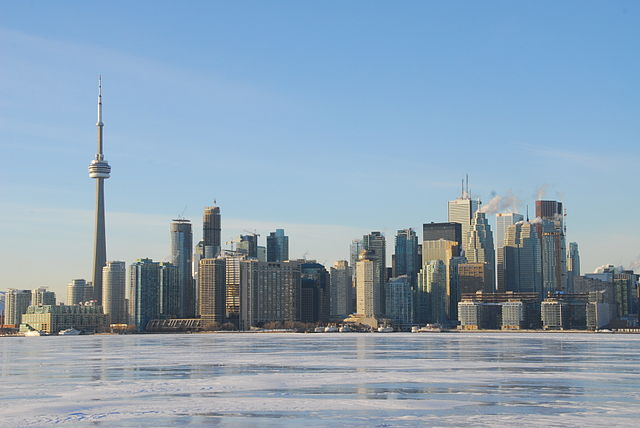 """Downtown from Ward's Island (11740832935)"" by Lord of the Wings© from Toronto, Canada - Downtown from Ward's Island. Licensed under Creative Commons Attribution-Share Alike 2.0 via Wikimedia Commons - https://commons.wikimedia.org/wiki/File:Downtown_from_Ward%27s_Island_(11740832935).jpg#mediaviewer/File:Downtown_from_Ward%27s_Island_(11740832935).jpg"