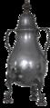 Dröppelminna freigestellt Silber dunkel.png