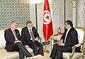 Dr. Rafik Abdessalem s'entretient avec M. M. Andrea Riccardi, ministre italien de la Coopération internationale et de l'Intégration. (6886788737).jpg