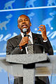 Dr Ben Carson at the Southern Republican Leadership Conference, Oklahoma City, OK May 2015 by Michael Vadon 06.jpg