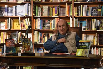 Michael Arnheim - Dr Arnheim at a book-signing at the Tattered Cover Bookstore, Denver, Colorado, in September, 2016.