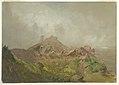 Drawing, Base of the American Fall, Niagara, 1856–58 (CH 18197009-2).jpg