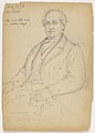 Drawing, James Lenox Seated; Verso- Mr. johnson Standing, 1893 (CH 18567301).jpg