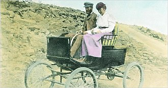 Driving - In 1899, an automobile was driven to the summit of Mount Washington, New Hampshire, for the first time