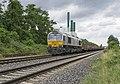 Duisburg-Wanheim ECR 247 035 met lege staaltrein richting HKM (27800950444).jpg