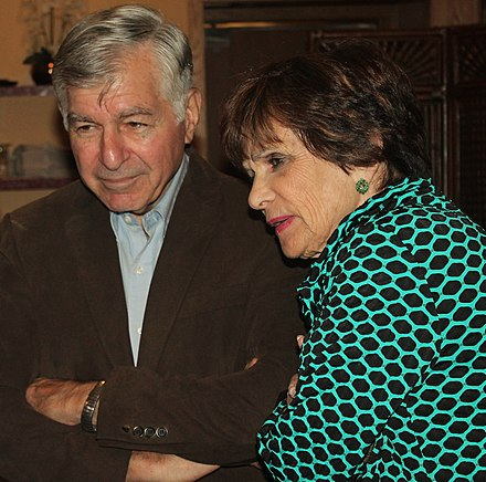 Dukakis with his wife Kitty in 2015 Dukakis (17439145706).jpg