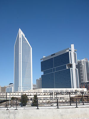 English: Duke Energy Center and The Westin Cha...