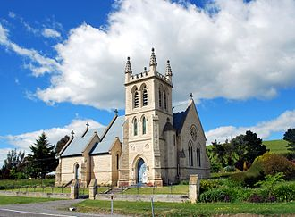 Duntroon, New Zealand - St. Martin's Anglican Church