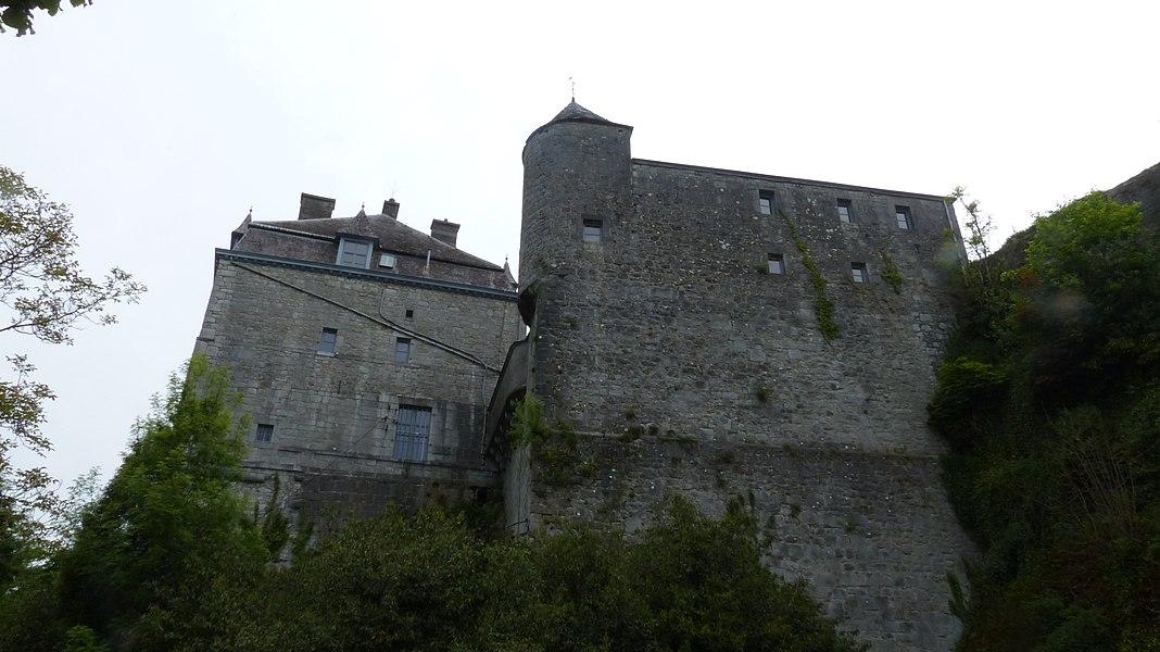 Anciennes murailles d'enceinte de la ville de Durbuy
