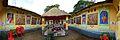 Durga Puja Pandal Interior - Biswamilani Club - Padmapukur Water Treatment Plant Road - Howrah 2013-10-14 3457-3462.JPG