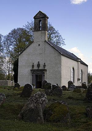 Durrow Abbey - Image: Durrow Church