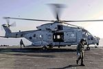 EH 101 Italian Navy on the flight of the amphibious assault ship USS Boxer.jpg