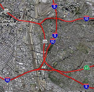 East Los Angeles Interchange - Image: ELA COMPLEX