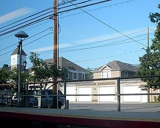 East Williston, New York - Image: E Williston Village Hall LIRR jeh