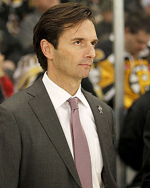 Dallas Eakins - Eakins at the 2013 AHL All Star Game