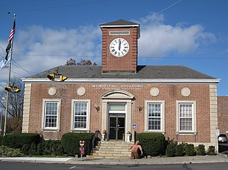 East Stroudsburg, Pennsylvania - East Stroudsburg's borough hall