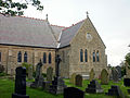 East end of All Hallows Church, Bispham.jpg