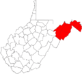 Eastern panhandle west virginia.png