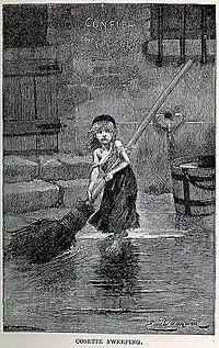 Cosette chez les Thénardier.