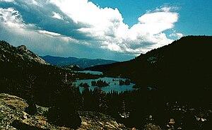 Echo Lake (California) - Upper and Lower Echo Lake, California