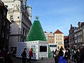 Eco-friendly Christmas tree 2013. She stood in the Market Square in Poznan (7).jpg