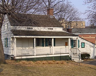 Edgar Allan Poe - Cottage in Fordham (now the Bronx) where Poe spent his last years