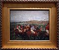 Edgar degas, corse di gentiluomini, prima della partenza, 1862, ripreso nel 1882, 01.JPG