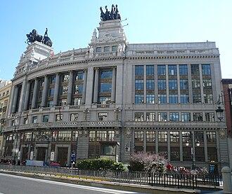 Ricardo Bastida - Banco de Bilbao, nº 16 C. Alcalá in Madrid.
