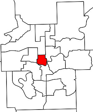 Edmonton-Centre - 2010 boundaries