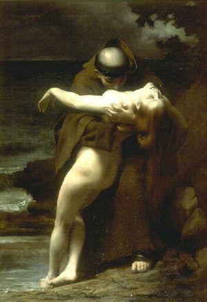 Mélidore et Phrosine - Phrosine et Mélidore by Édouard Joseph Dantan