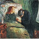 Edvard Munch - The sick child (1907) - Tate Modern.jpg