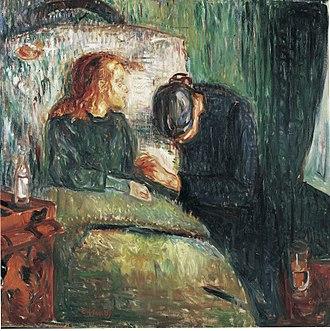 The Sick Child - Image: Edvard Munch The sick child (1907) Tate Modern
