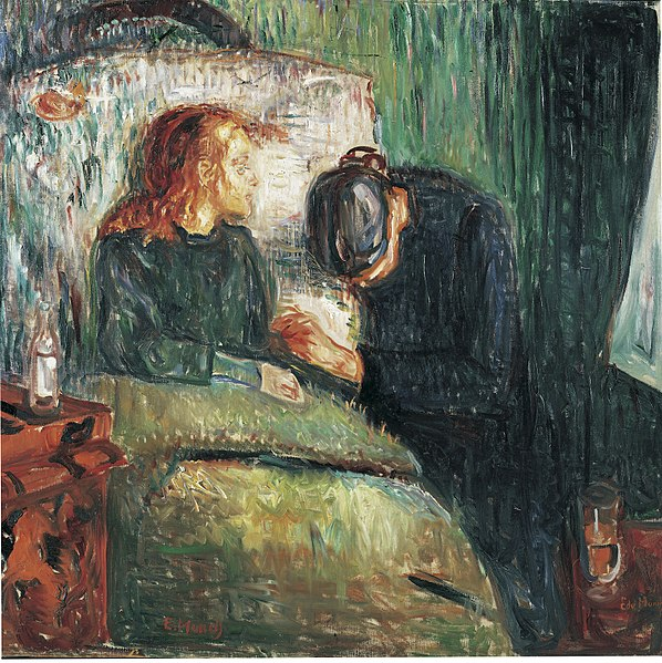 File:Edvard Munch - The sick child (1907) - Tate Modern.jpg