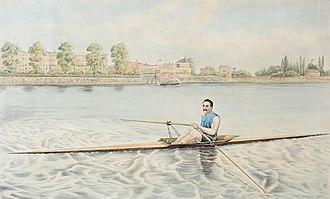 "Ned Hanlan - ""Edward Hanlan of Toronto – Champion Sculler of the World"" (George Rees, 1880)"