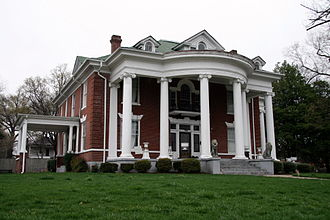 Dyersburg, Tennessee - The Edward Moody King House is on the National Register of Historic Places.