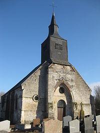 Eglise de Berlencourt-le-Cauroy - Pas de Calais - France.JPG