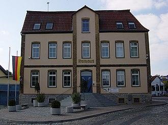 Obere Aller - Rathaus in Eilsleben: seat of the Verbandsgemeinde Obere Aller